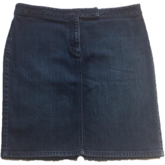 8860f0c434 LOFT Dresses & Skirts - Ann Taylor Loft Denim Skirt Size 12